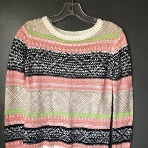 Demanding Cotton Blend Sweater XS